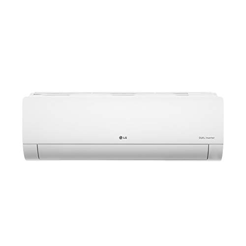 LG 1.5 Ton 5 Star Dual Inverter Split AC (Copper, KS-Q18HNZD, White, Hi Grooved Copper)