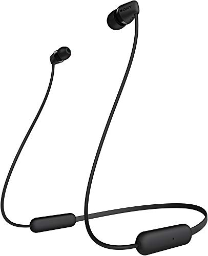 Sony WI-C200 Wireless In-Ear Headphones with 15 Hours Battery Life, Quick Charge, Magnetic Earbuds...