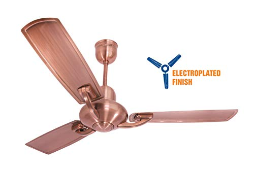 Crompton Triton 48-Inch Elctroplated Finish Ceiling Fan (Antique Copper)