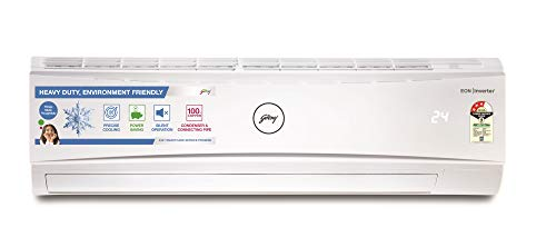 Godrej 2 Ton 3 Star Inverter Split AC (Copper AC 2T GIC 24LTC3-WSA Split 3S White)