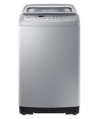 Samsung 7 kg Fully-Automatic Top Loading Washing Machine (WA70A4002GS/TL, Imperial Silver, Diamond...