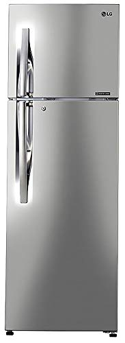 LG 308 L 2 Star Inverter Linear Frost-Free Double-Door Refrigerator (GL-T322RPZU, Shiny Steel,...