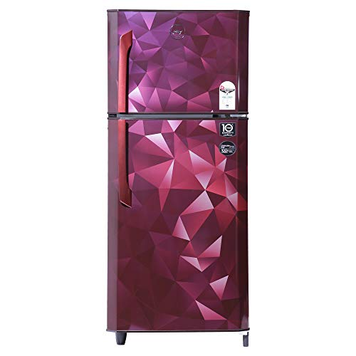 Godrej 231 L 1 Star Frost-Free Double Door Refrigerator (RF EON 245A 15 HF PS WN, Prism Wine)
