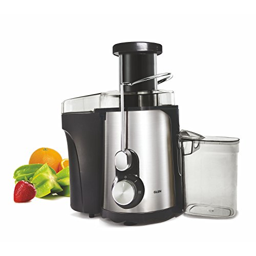Glen Centrifugal Juicer GL 4019, Anti - Drip Feature - Silver/Black