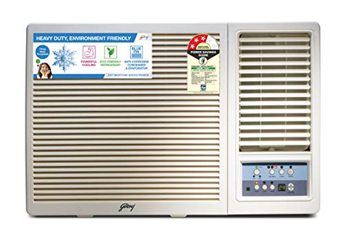 Godrej 2 Ton 3 Star Window AC (Copper AC 2T GWC 24UTC3-WSA Window 3S White)