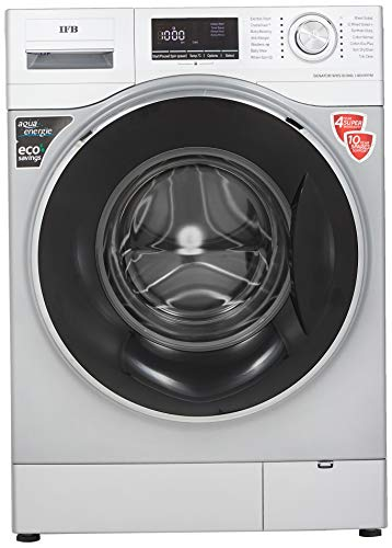 IFB 8kg 5 Star Fully-Automatic Front Loading Washing Machine (Senator WXS, Silver, Inbuilt Heater,...