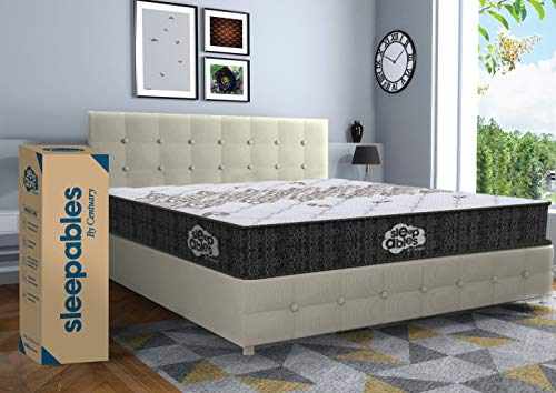 Centuary Mattresses Sleepables 6 Inch Multi Layered Pocket Spring Mattress (78 x 72 x 6 Inch , King)