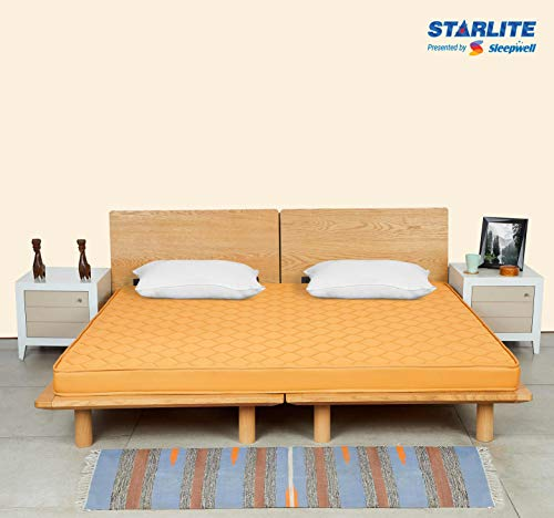 Sleepwell Starlite Select Extra Firm Coir Mattress (78x72x4)