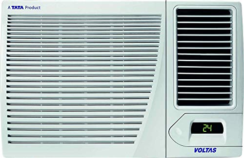 Voltas 1.5 Ton Hot & Cold Window AC (Copper 18H CZP White)