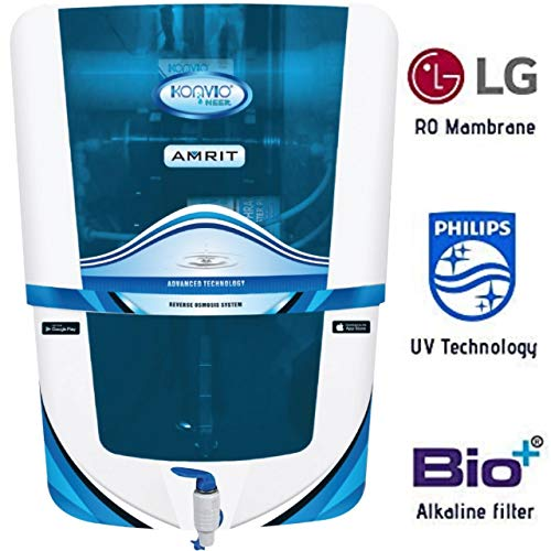 Konvio Neer Amrit RO + UV + UF + TDS Adjuster Water Purifier with Japanese UV and High 3000 TDS...